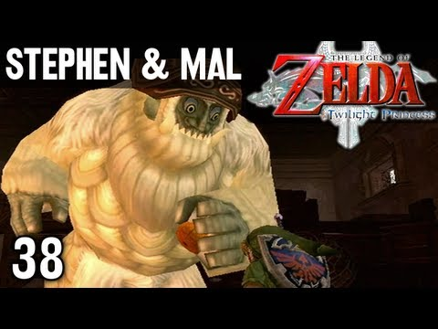 Stephen & Mal: Zelda Twilight Princess #38