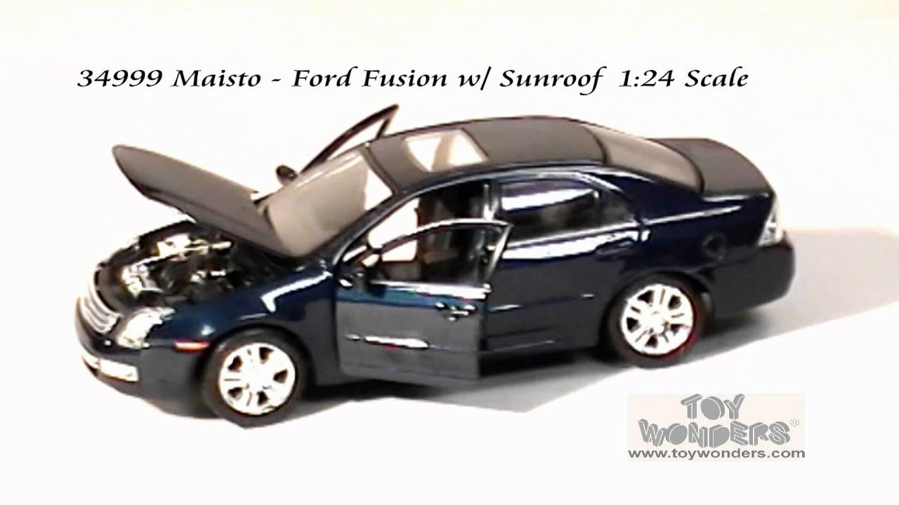 34999 Maisto Ford Fusion Sunroof 124 Scale Diecast