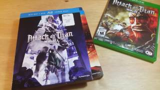 "Unboxing ""Attack on Titan"" XBox One 