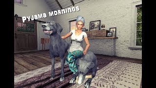 Pyjama mornings in Second Life