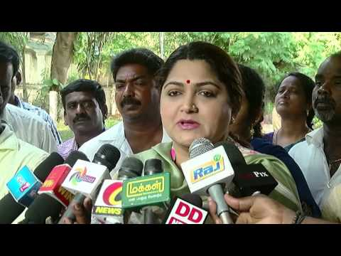 I Will Definitely Campaign for M.K Stalin - Actress Khushboo - Must Watch