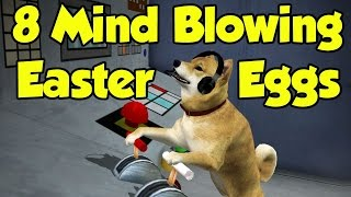 8 MIND BLOWING Easter Eggs In Video Games
