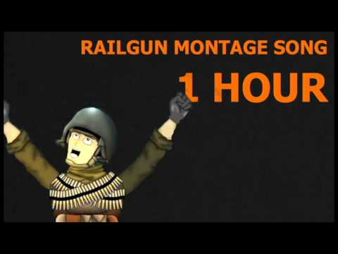 Railgun Montage Song by Neebs Gaming 1 Hour