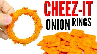 CHEEZ-IT ONION RINGS - How To