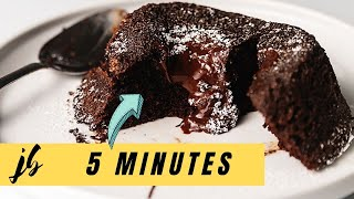 The Secret to 5 Minute Keto Chocolate Lava Cakes