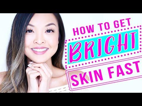 HOW TO: Lighten & Brighten Skin FAST! - YouTube