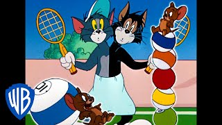Tom & Jerry | Ready, Set, Sport! | Classic Cartoon Compilation | WB Kids