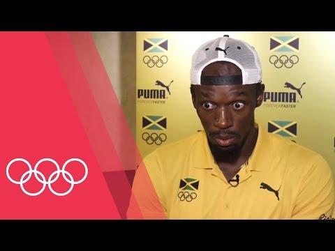 Usain Bolt: Complete my Tweet Challenge