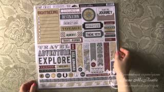 Материалы для скрапбукинга Teresa Collins (scrapbooking products review)