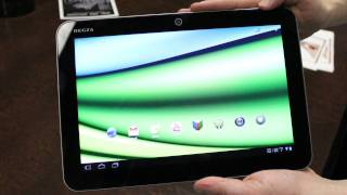 Toshiba Excite X10 - New Android Tablet from CES 2012