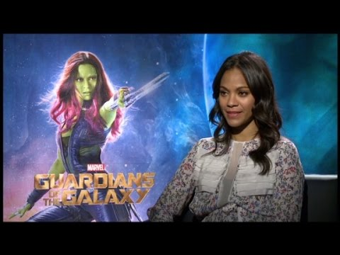 Zoe Saldana's hero check on the