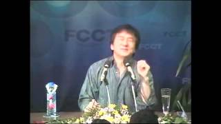 Jackie Chan at the Foreign Correspondents