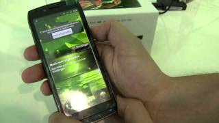 Acer Iconia Smart with Android 2.3.3 Hands On at IFA 2011
