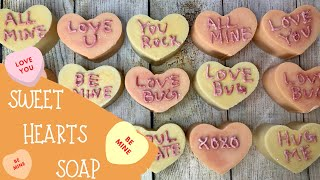 Making Of Sweet Hearts Cold Process Soap | 💛 GYPSYFAE CREATIONS