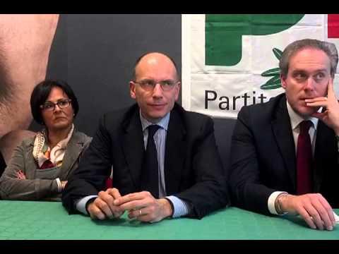 """Enrico Letta: """"L'Agenda Monti non esiste più. Brutta la battuta sul 1921″"""