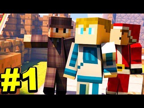 Minecraft GÓRY #1/3 - TU JEST DZIWNIE!!!