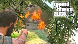 "GTA 5 - MISTERIOS SIN RESOLVER ""¡TUMBA ESCONDIDA!"" (GTA V)"