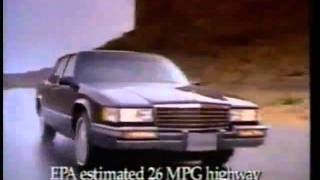 1991 cadillac commercial