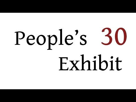 People's Exhibit - Ep 30 - Last Bit Of Horror Before 2016 - 17/12/2015