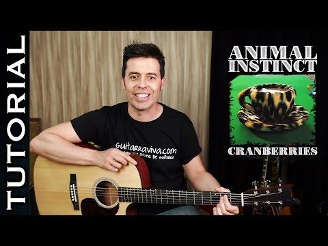 Cómo tocar Animal Instinct de The Cranberries en guitarra fácil