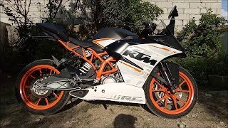 Who MESSED with MY RC 390? Tell me now....
