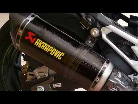 Kawasaki Z800 with Akrapovic