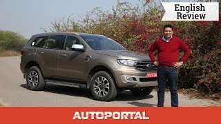 2019 Ford Endeavour - Best Big SUV - English Review - Autoportal