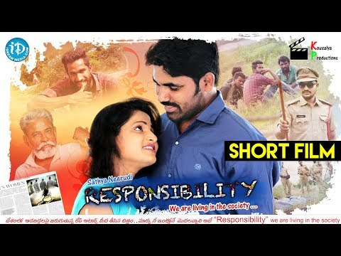 Responsibility - Latest Telugu Short Film 2018 ||  Directed By Satya Neerudi
