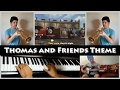 Thomas and Friends - Engine Roll Call Theme (Trumpet, piano and bass cover)