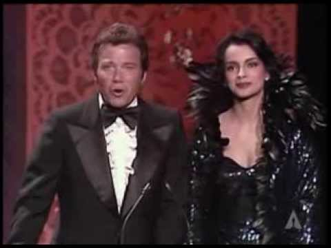 William Shatner and Persis Khambatta present Documentary Oscars® in 1980