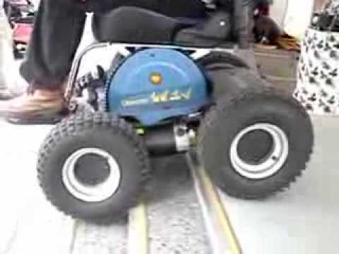 Stair Climbing Power Wheelchair Youtube