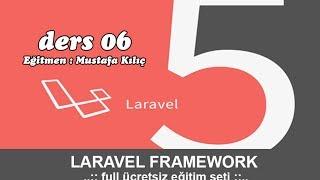 Php Dersleri - Laravel 5 Eğitim Seti Bölüm - 6