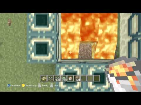 Minecraft Ender Portal Tutorial - Xbox 360 (With commentary)