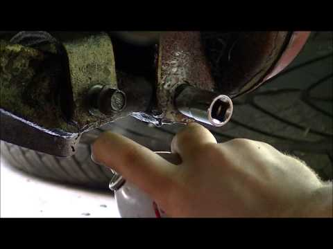 How to remove seized rusted stuck lower control arm bolts Part 2
