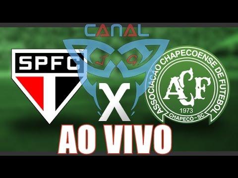 Chapecoense 00 x 00 São Paulo AO VIVO Campeonato Brasileiro (22-10-2014) [CanalJGEsportes]