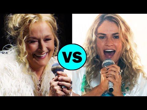 Mamma Mia vs MAMMA MIA 2 Here We Go Again