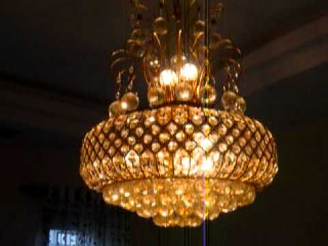 Moving Lights - Chandelier Jhumar - P1030571.MOV - YouTube
