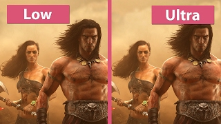 4K UHD | Conan Exiles – PC Low vs.  Medium vs.  Ultra Graphics Comparison
