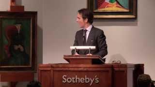 Sotheby's $290 Million Impressionist & Modern Art Evening Auction in New York