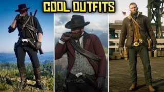 Red Dead Redemption 2 - COOL OUTFITS #2 (Niko Bellic, Black Rider, Woody from Toy Story & More)