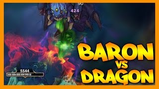Elder Dragon vs Baron Nashor
