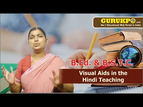 Visual Aids In The Hindi Teaching Lecture by Sunita Kumari Sharma.