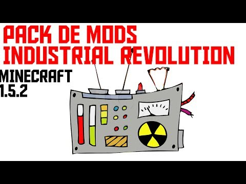 Minecraft pack de mods: Industrial Revolution [1.5.2] 50 MODS!! (Descarga e Instalador)