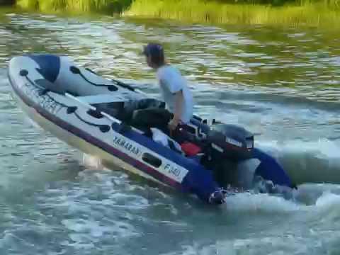 скорость лодки с разными моторами