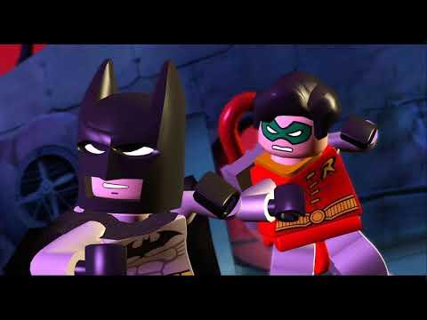 LEGO Batman: The Video Game Walkthrough - Episode 1-2 The Riddler's Revenge - An Icy Reception