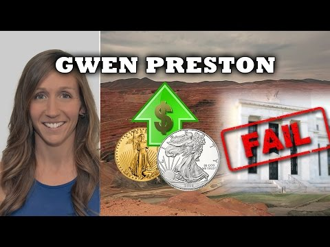 FED Backed into a Corner, This will Spell Ultimate Rise in Gold & Silver - Gwen Preston Interview