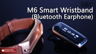 M6 Bluetooth 4.0 Smart Wristband - Gearbest.com