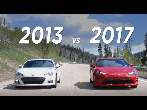 2017 86 vs 2013 BRZ - What you need to know | Everyday Driver