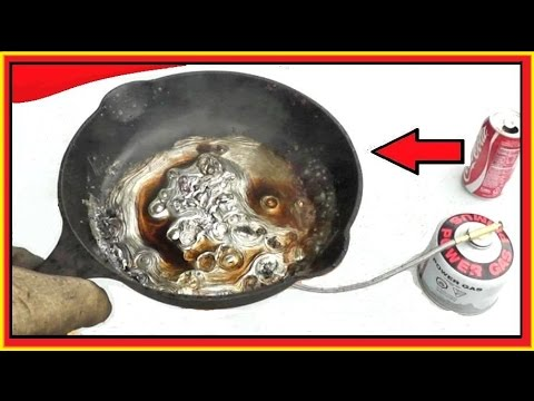 COKE vs Molten LEAD -  An unanticipated RESULT!