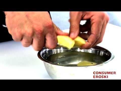 T cnicas b sicas de cocina c mo cortar las patatas youtube - Tecnicas basicas de cocina ...